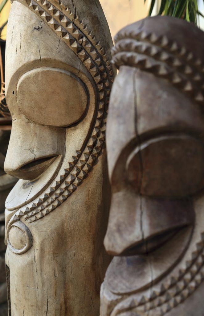 Traditional sculptures-Vanuatu