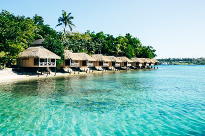 The Breathtaking Iririki Island Resort & Spa in Vanuatu